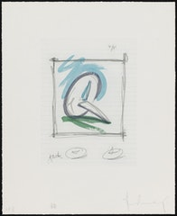 Claes Oldenburg Drawings And Prints